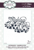 Sue Wilson Craft Dies - Expressions Collection - Thinking of You - CED5411